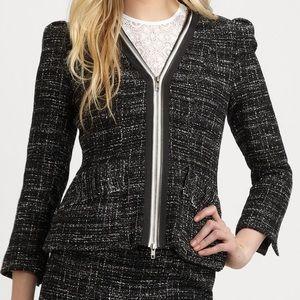 Nanette Lepore Wizard Tweed Jacket Size 2